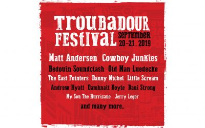 Troubadour Festival 2019 will present live, in concert….